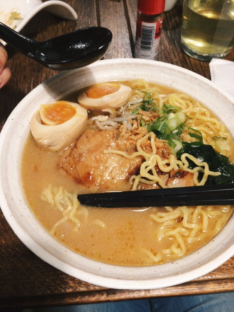 The best ramen in town Sapporo Sora Amsterdam