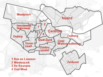 Amsterdam East Map